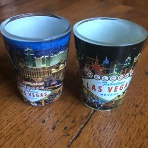 ❤️5/$25 Two New Las Vegas Shot Glasses